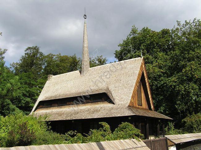 dřevěný evangelický kostel
