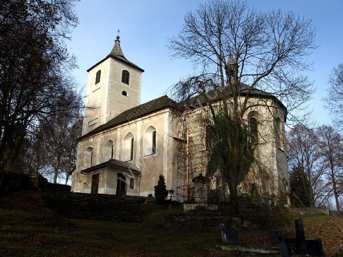 hřbitovní kostel Nanebevzetí Panny Marie