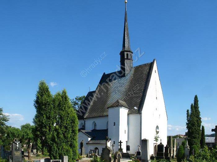 hřbitovní kostel sv. Michaela archanděla