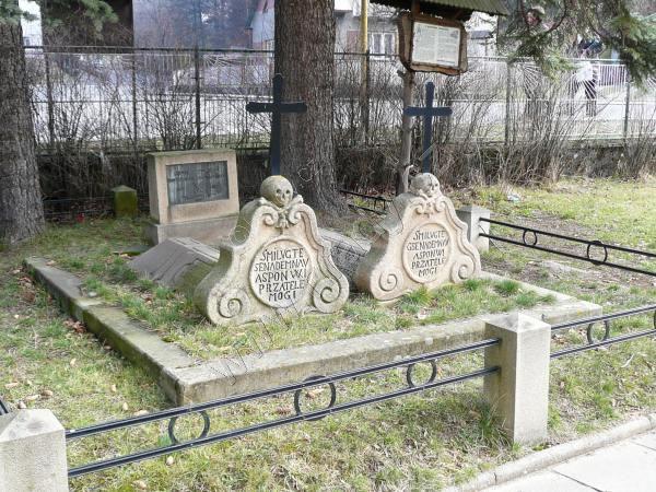 hroby portášů