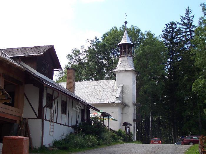 kaple sv. Anny na Křížovém vrchu
