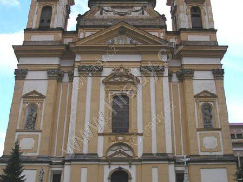 klášter augustiniánů s kostelem Zvěstování Panny Marie