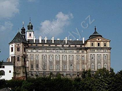 klášter benediktinů s kostelem sv. Vojtěcha