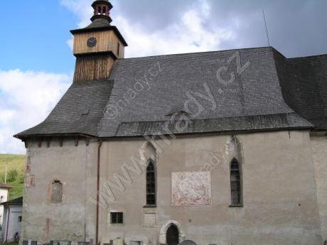 klášter cyriaků s kostelem Panny Marie (sv. Kříže)