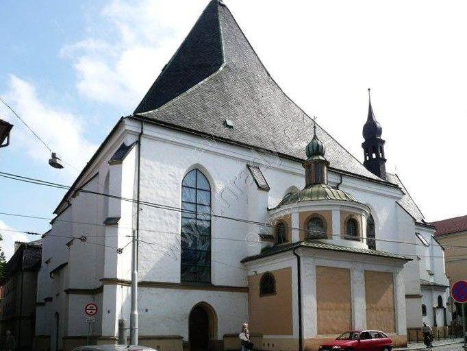 klášter františkánů/dominikánů s kostelem Neposkvrněného početí Panny Marie
