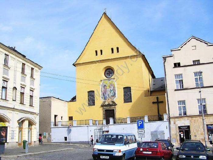 klášter kapucínů s kostelem Zvěstování Panny Marie