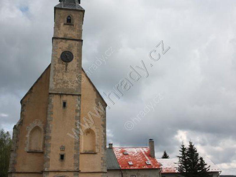 klášter pavlánů s kostelem sv. Filipa a Jakuba