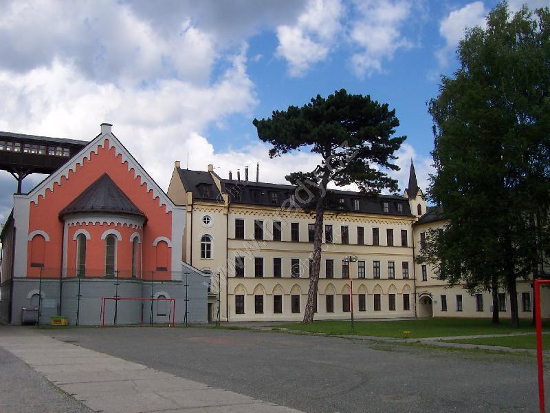 klášter voršilek s kaplí Panny Marie
