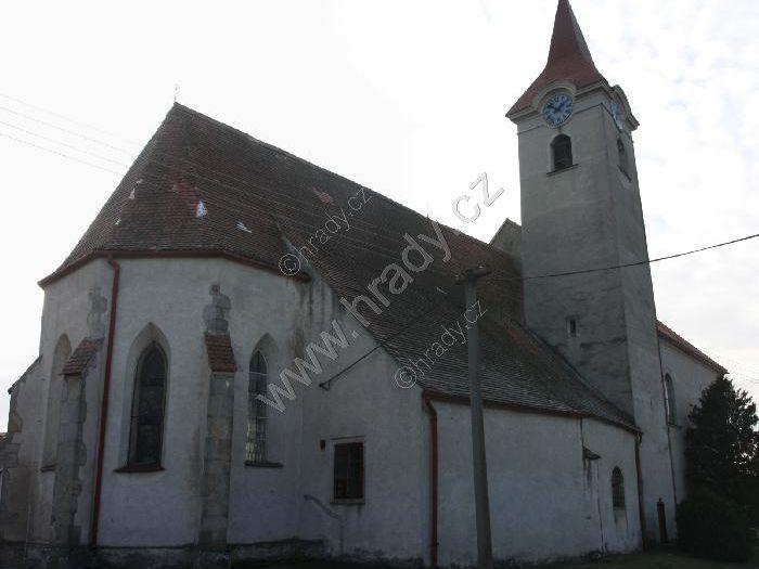 kostel Nanebevzetí Panny Marie a sv. Ondřeje