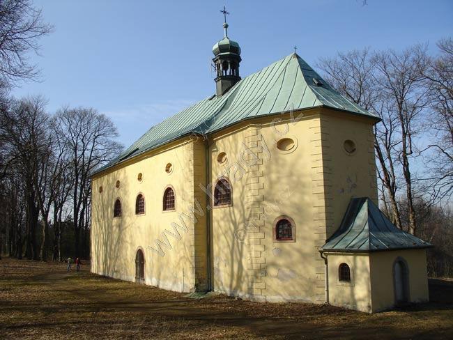 kostel Proměnění Páně na hoře Tábor