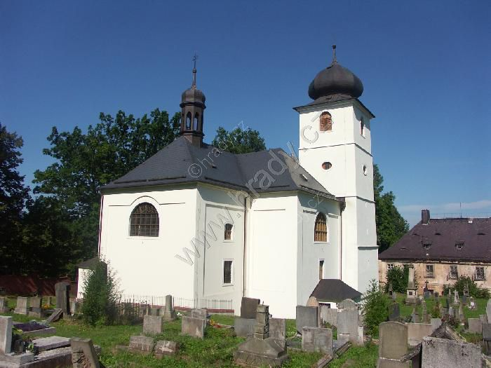 kostel sv. Jiří a Martina