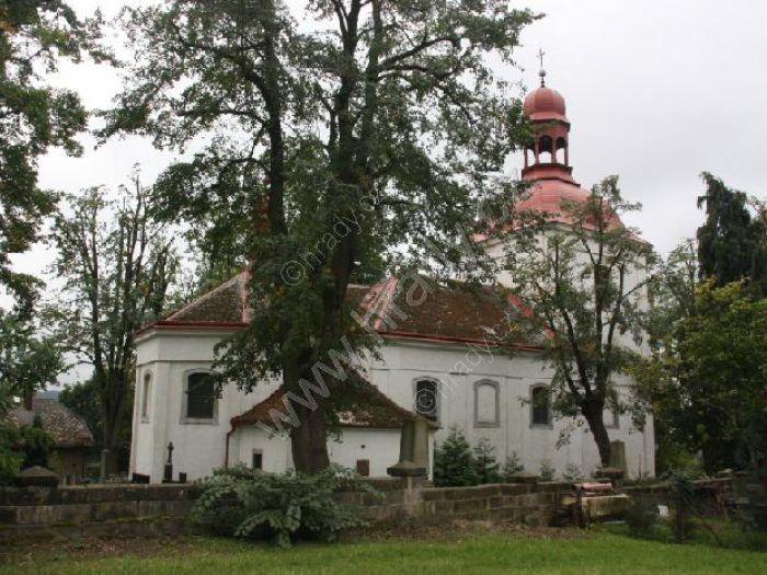 kostel sv. Matěje na Hruštici