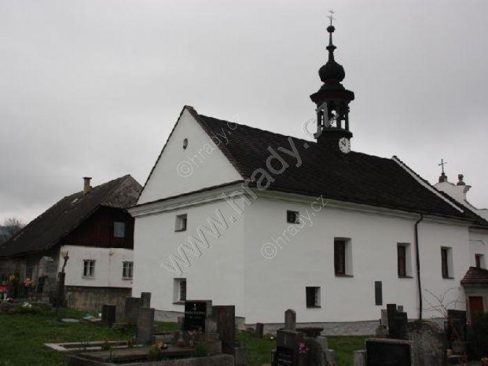 kostel Svaté rodiny a sv. Jana Nepomuckého