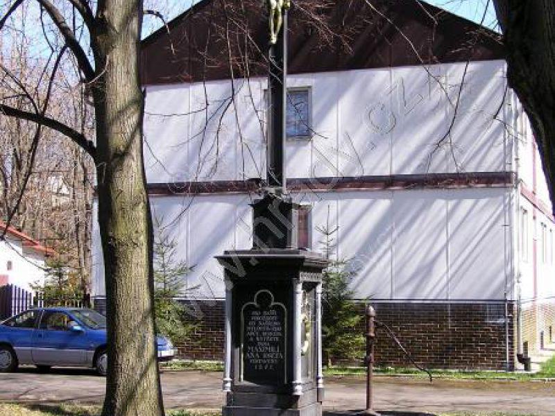 kříž při čeladenských železárnách