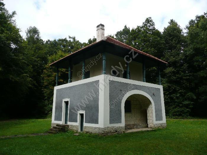 Zámek lovecký letohrádek Lusthaus