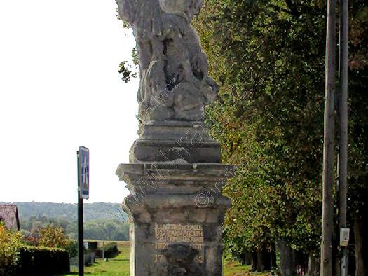 socha Archanděla Michaela