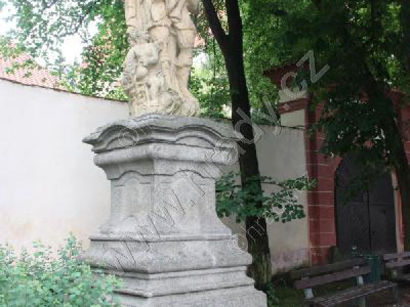 socha sv. Floriana