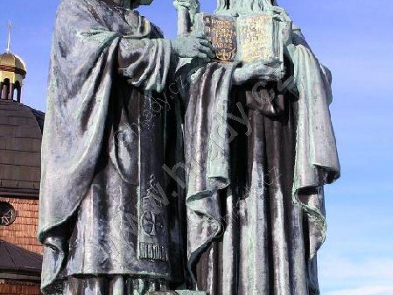 sousoší sv. Cyrila a Metoděje