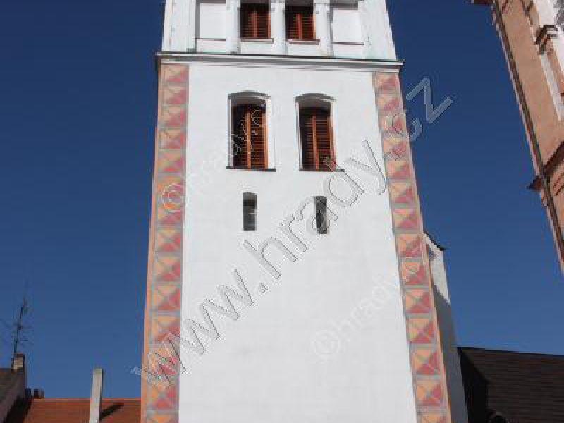 zvonice u kostela Navštívení Panny Marie