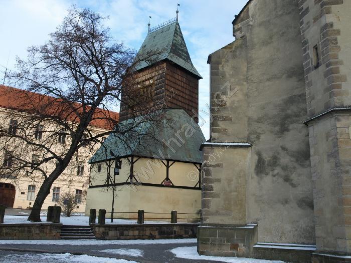 zvonice u kostela sv. Bartoloměje