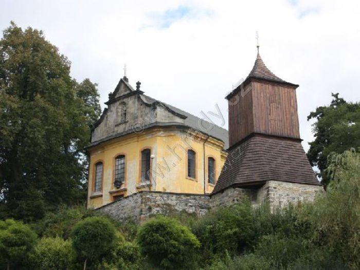 zvonice u kostela sv. Jakuba Většího