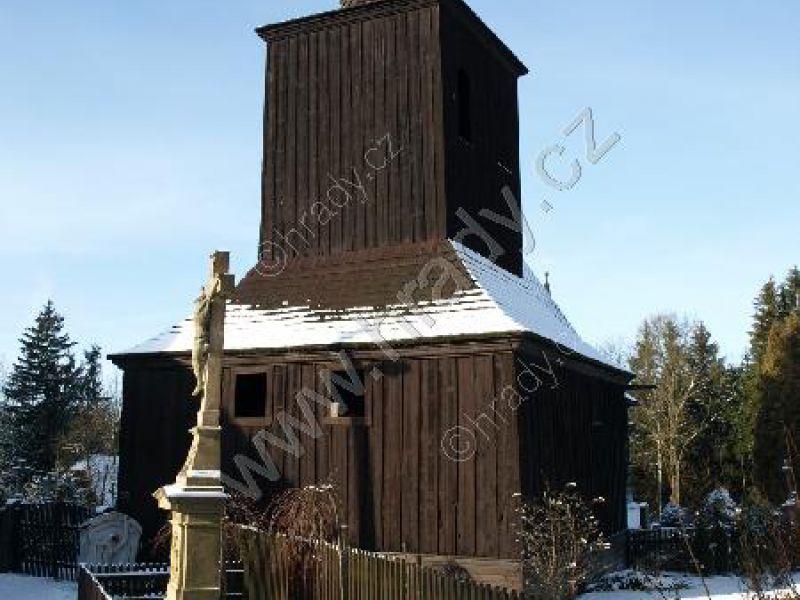zvonice u kostela sv. Petra a Pavla