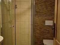 Sdílená koupelna pro pokoj #5 a #6 - chalupa k pronajmutí Trojanovice