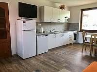 kuchyň - chalupa ubytování Prostřední Bečva