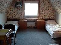 pokoje č. 3 a 4 v 1. patře - chata k pronajmutí Horní Bečva