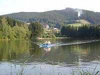 Vodní nádrž Horní Bečva - chata k pronájmu