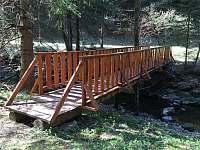 Mostek přes potok - Krásná