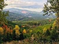 Pohled na Lysou horu - Krásná