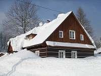 Sněhová nadílka - chalupa ubytování Krásná