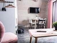 Jídelní kout s chytrou televizí, Wi-fi - Apartmán I. - Horní Bečva