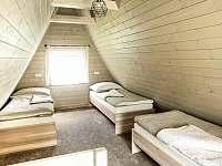 Ložnice v patře se 4 lůžky - Horní Bečva
