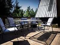 Prostorná terasa - Horní Bečva