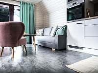Rozkládací pohovka pro 2 - apartmán k pronajmutí Horní Bečva