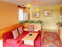 Obývací prostor - chata Babská