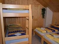 pokoj č.4 - chalupa k pronájmu Velké Karlovice