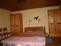 detail 2. ložnice - chalupa ubytování Mosty u Jablůnkova - Šance