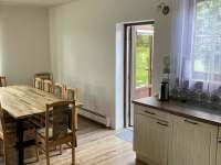 Nové dveře z kuchyně na terasu - Halenkov