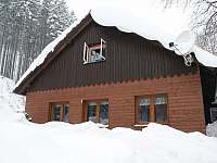 Zima na Stříšce 2008 - pronájem chalupy Krásná