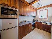 Apartmán DELUXE 80 m2 - plně vybavená kuchyň - Bílá