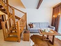 Apartmán DELUXE 80 m2 - pobytová místnost - k pronajmutí Bílá