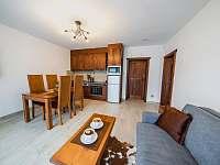 Apartmán PREMIUM 37 m2 - pobytová místnost - k pronájmu Bílá
