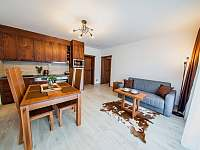 Apartmán PREMIUM 37 m2 - pobytová místnost - k pronajmutí Bílá