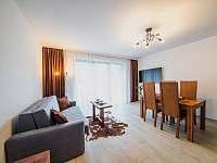 Apartmán PREMIUM 37 m2 - pobytová místnost - pronájem Bílá