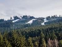 Apartmány Bílá 188 - výhled na lyžařské svahy -