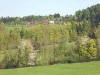 výhled - pronájem chaty Vidče