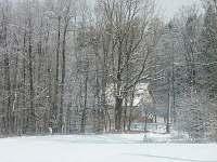 chalupa skryte v zime